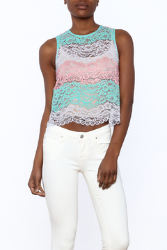 After Market Colorful Lace Top - Product List Image