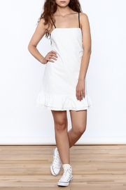 After Market Contrast Back Dress - Front full body