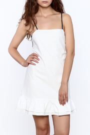 After Market Contrast Back Dress - Front cropped