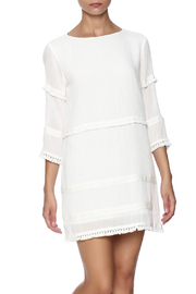 After Market Fringe Trim Dress - Product Mini Image