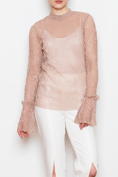 Shoptiques Product: Metallic Thread Top