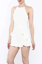 After Market Ruffle Short Romper - Product Mini Image