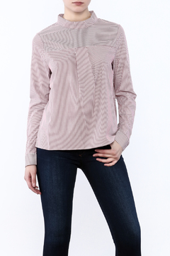 After Market Striped Modern Blouse - Product List Image