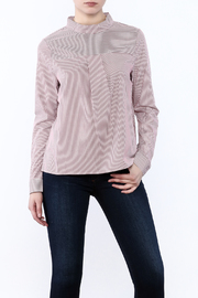 After Market Striped Modern Blouse - Product Mini Image