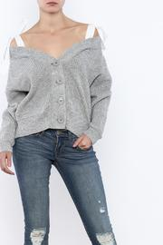 After Market Tie Shoulder Sweater - Product Mini Image