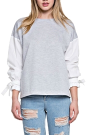 After Market Bow Sleeve Top - Product Mini Image