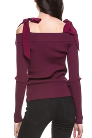 After Market Knit Cold Shoulder - Front full body