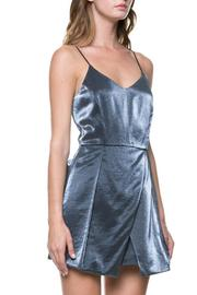 After Market Metallic Mini Dress - Product Mini Image