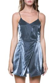 After Market Metallic Mini Dress - Front cropped
