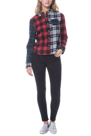 After Market Mixed Plaid Shirt - Front cropped