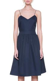 After Market Navy Midi Dress - Product Mini Image
