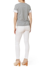 After Market Pleat Cuff Top - Front full body