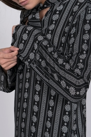 After Market Print Robe Dress - Other