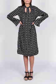 After Market Print Robe Dress - Product Mini Image