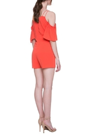 After Market Tomato Cutout Romper - Back cropped