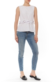 After Market Ruffle Front Top - Front cropped