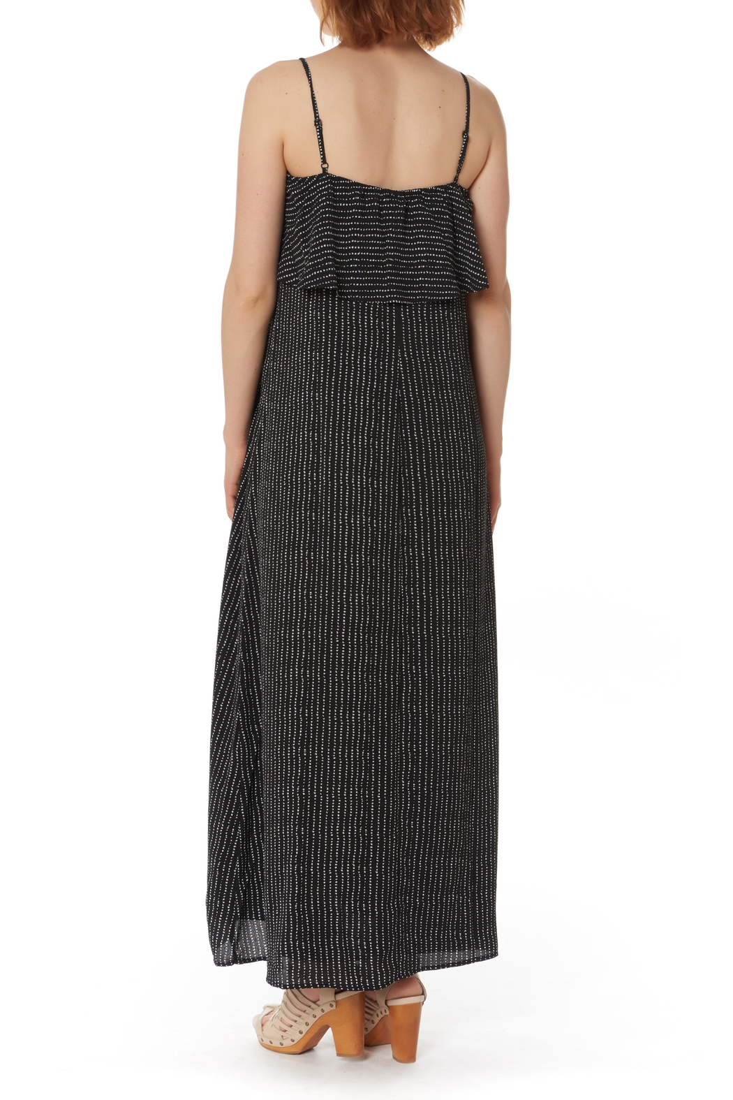 After Market Ruffled Maxi Dress - Front Full Image