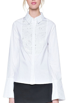 Shoptiques Product: Sequin Yoke Shirt