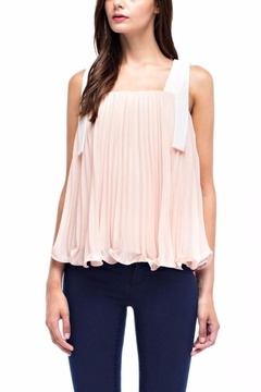 After Market Pleated Sleveless Top - Product List Image