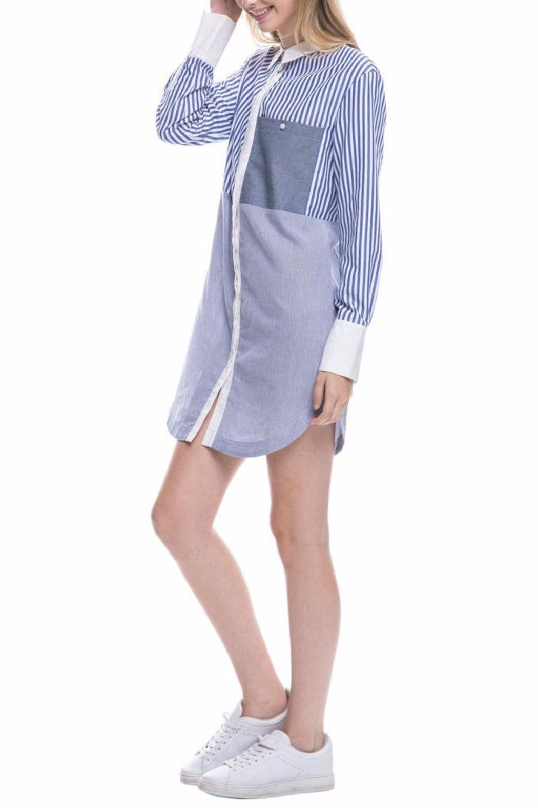 07840761423 After Market Striped Shirt Dress from Brooklyn by Glam Expressway ...