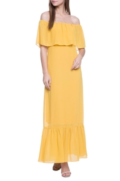 After Market Yellow Maxi Dress - Product List Image