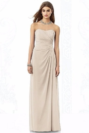 After Six Strapless Rouched Bridesmaid - Product Mini Image