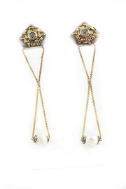 Anneaux Bleus Jewelry Afternoon Glow Earrings - Product Mini Image