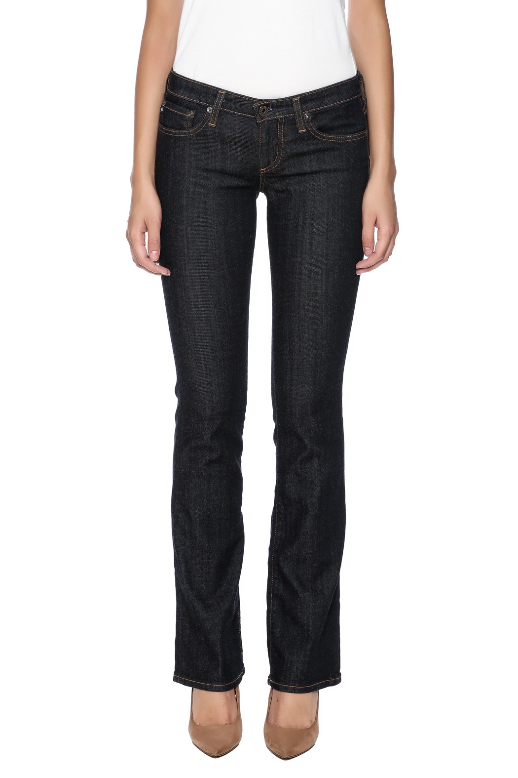 AG Adriano Goldschmied Olivia Boot Cut - Side Cropped Image