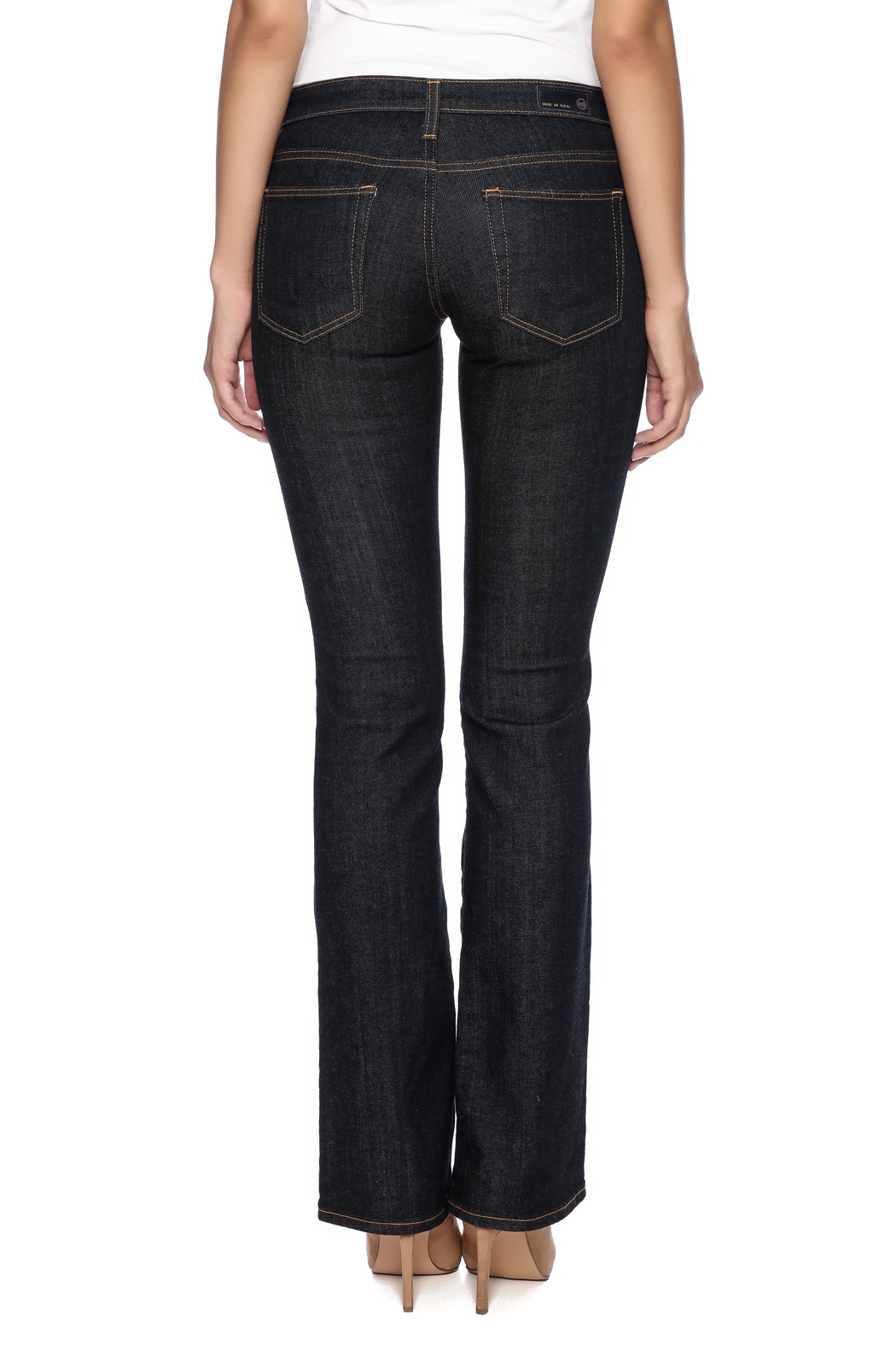 AG Adriano Goldschmied Olivia Boot Cut - Back Cropped Image