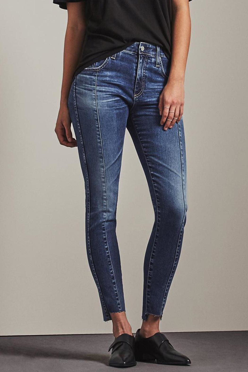 AG Farrah Skinny Ankle - Front Cropped Image