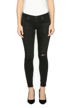 AG Jeans Black Ankle Skinnies - Product List Image