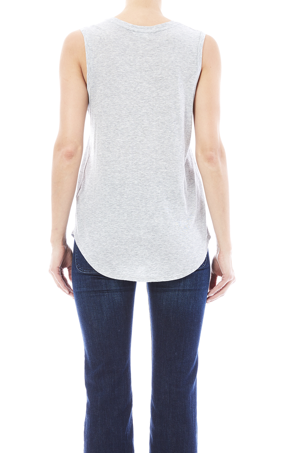 AG Muscle Tee - Back Cropped Image