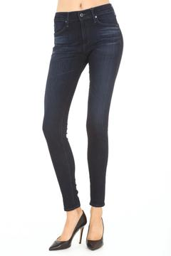 AG Adriano Goldschmied Highrise Blue Jeans - Alternate List Image