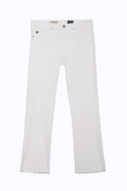 AG Adriano Goldschmied Jodi Crop White - Back cropped
