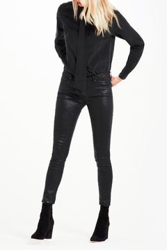 AG Adriano Goldschmied Legging-Ankle Crackle Leatherette - Product List Image