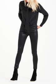AG Adriano Goldschmied Legging-Ankle Crackle Leatherette - Product Mini Image