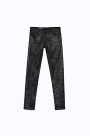 AG Adriano Goldschmied Legging-Ankle Crackle Leatherette - Other