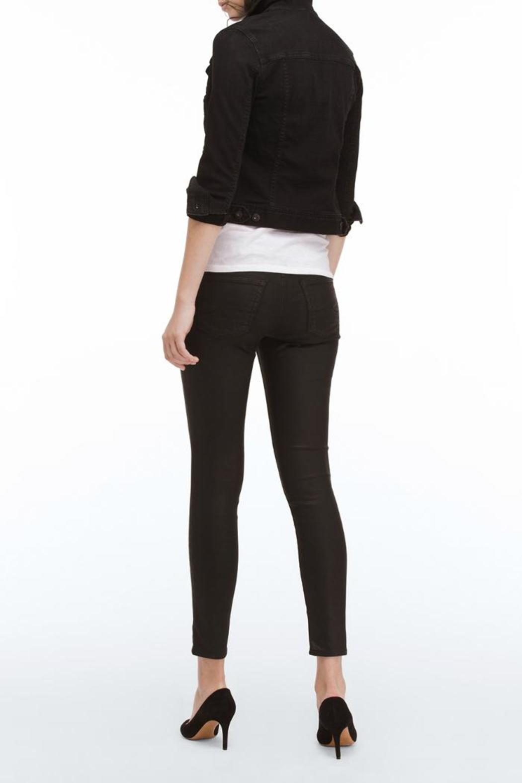 AG Adriano Goldschmied Legging Ankle Leatherettes - Side Cropped Image