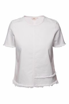 AG Adriano Goldschmied Tawny Raw Tee - Product List Image