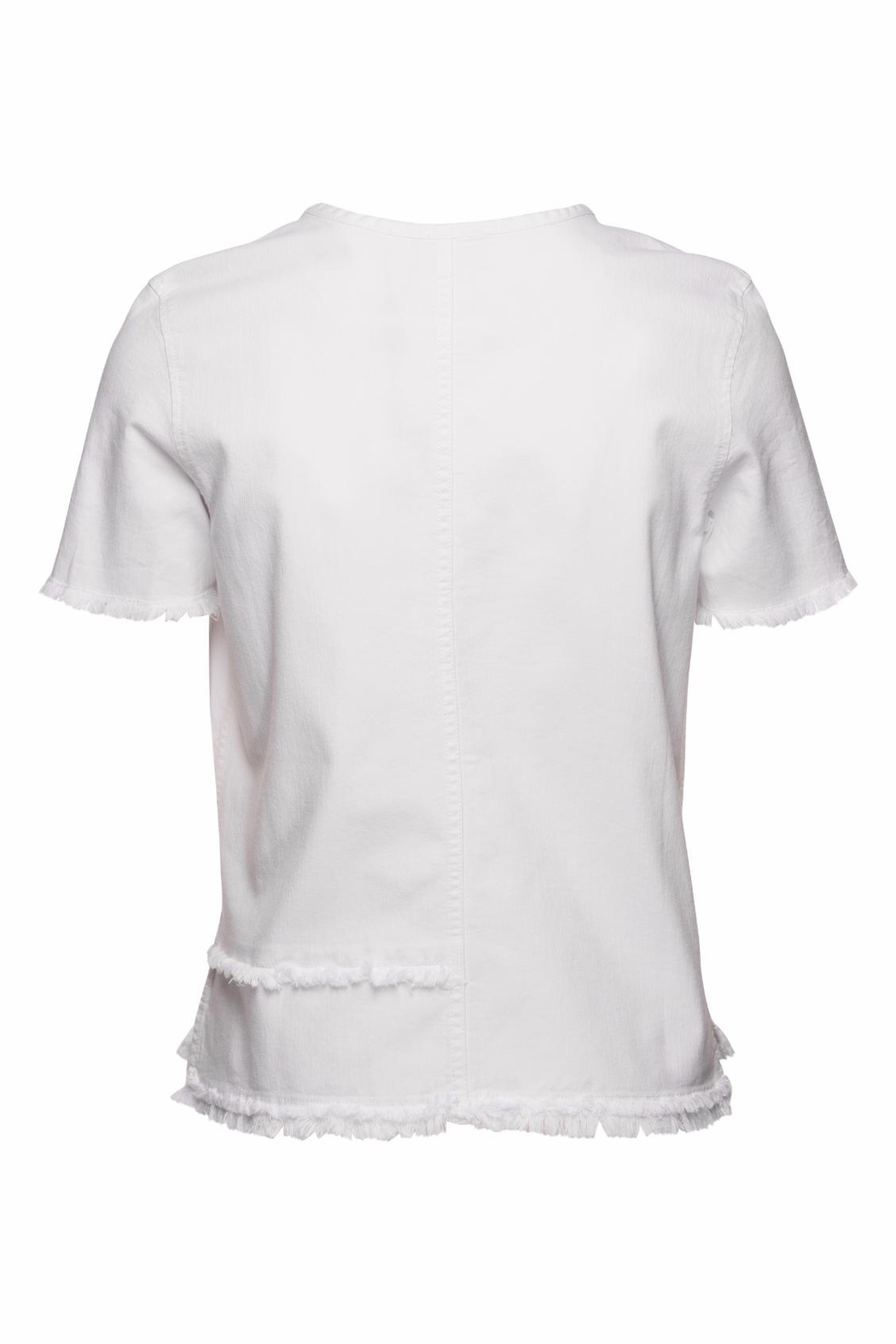 AG Adriano Goldschmied Tawny Raw Tee - Front Full Image