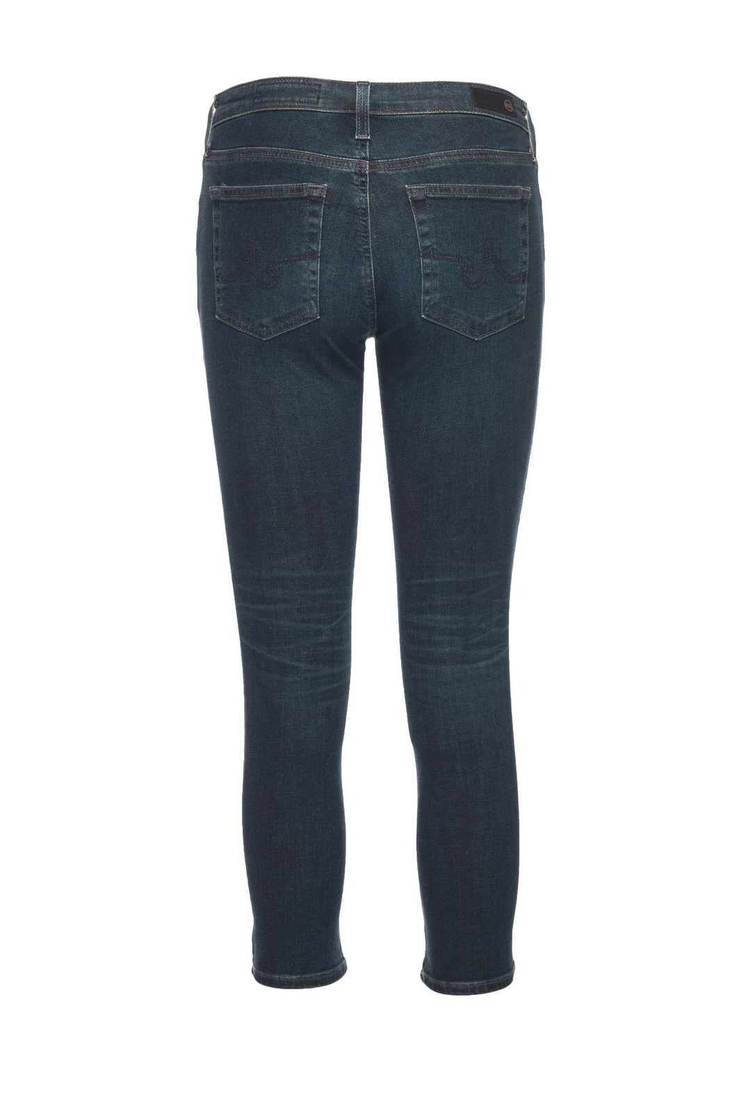 AG Adriano Goldschmied The Prima Crop  Jean - Front Full Image