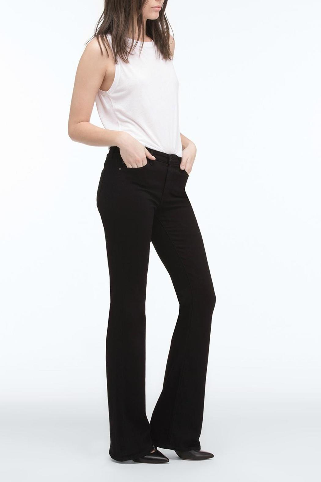 AG Jeans Angel Bootcut Black - Side Cropped Image