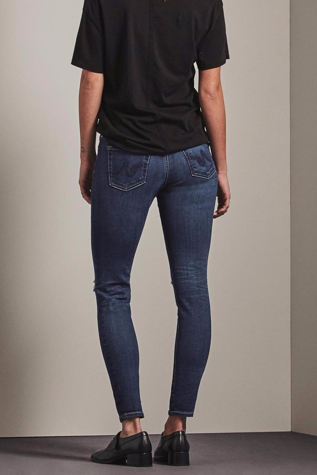 AG Jeans Ankle Skinny Jeans - Front Full Image