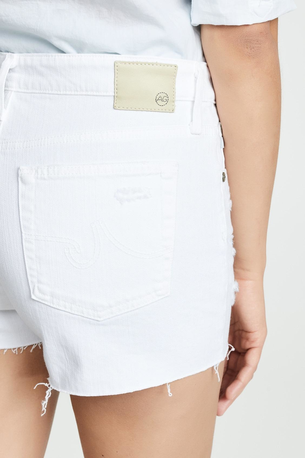 AG Jeans Hailey Cut Off - Front Full Image