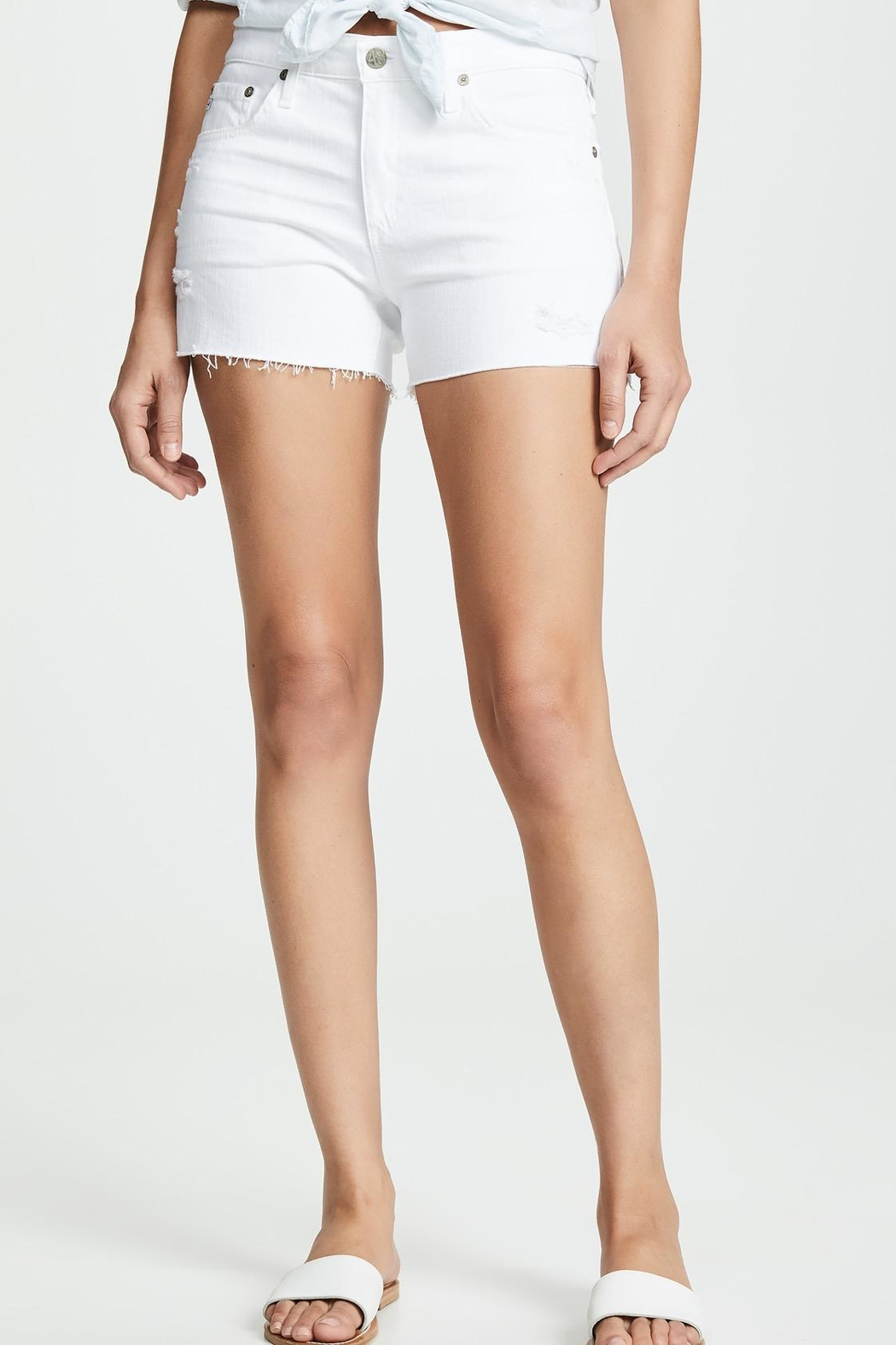 AG Jeans Hailey Cut Off - Front Cropped Image