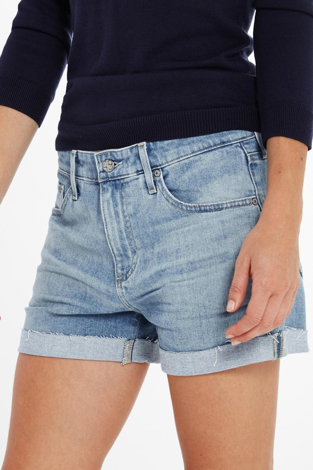 AG Jeans Hailey Short - Side Cropped Image
