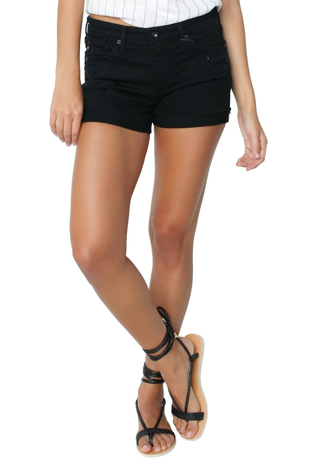 AG Jeans Hailey Short - Front Cropped Image