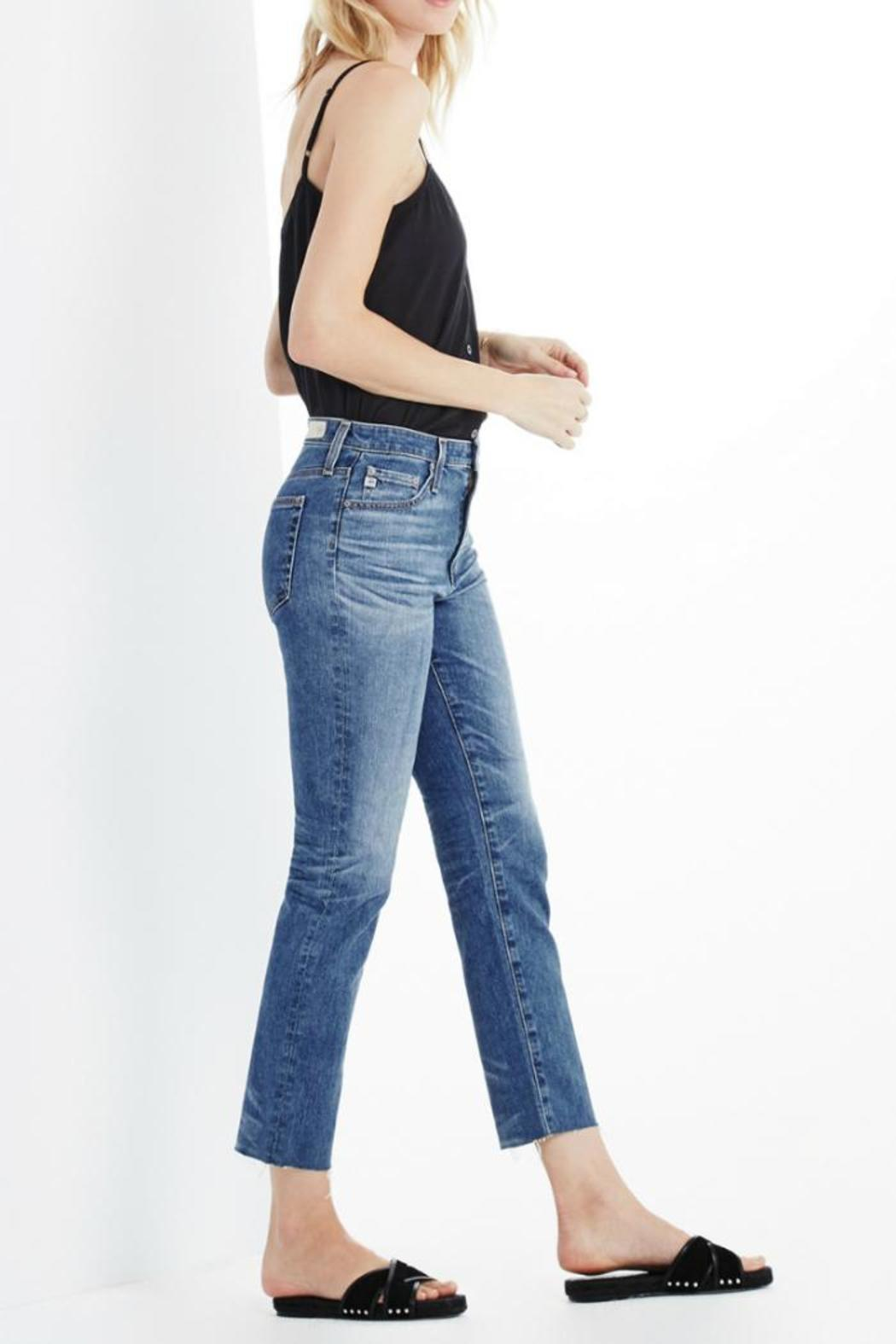 AG Jeans Isabelle Daring Jeans - Side Cropped Image