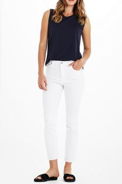 AG Jeans Isabelle White Pants - Product List Image