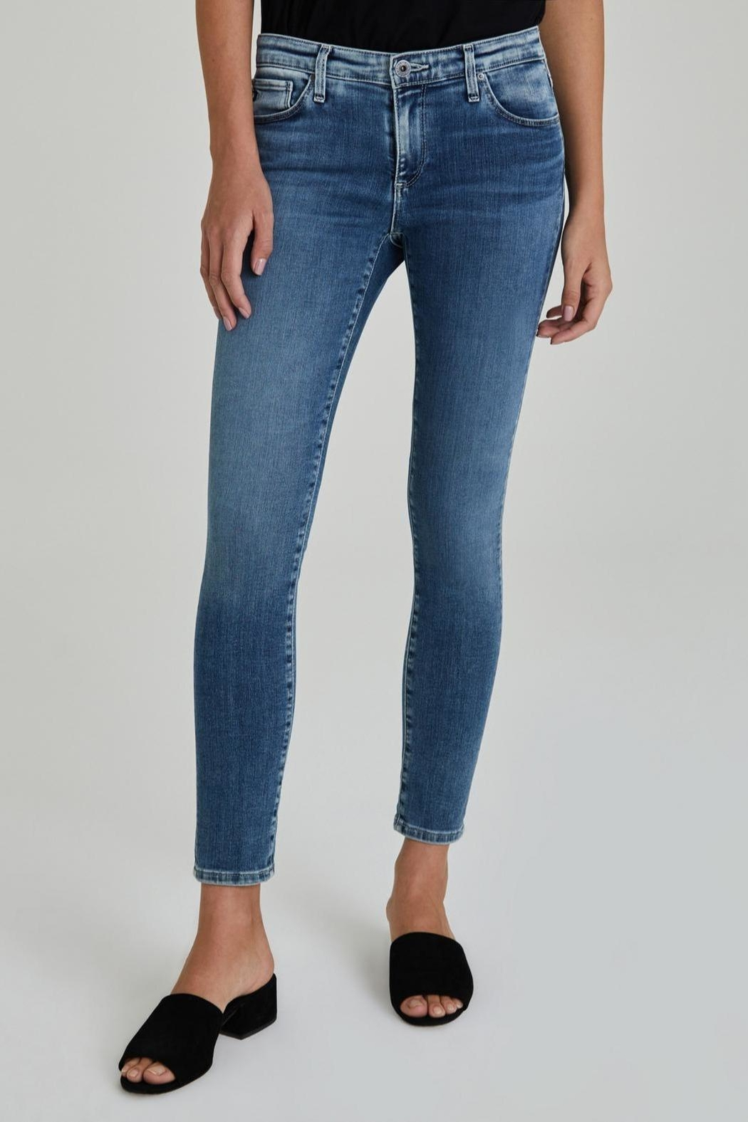 AG Jeans Legging Ankle - Front Cropped Image
